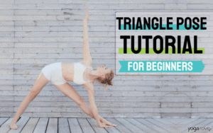 triangle pose for beginners