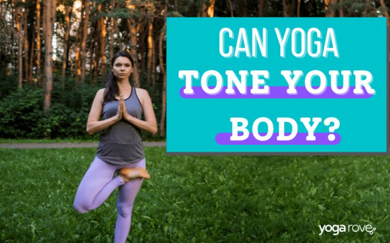 Yogi practicing Tree pose