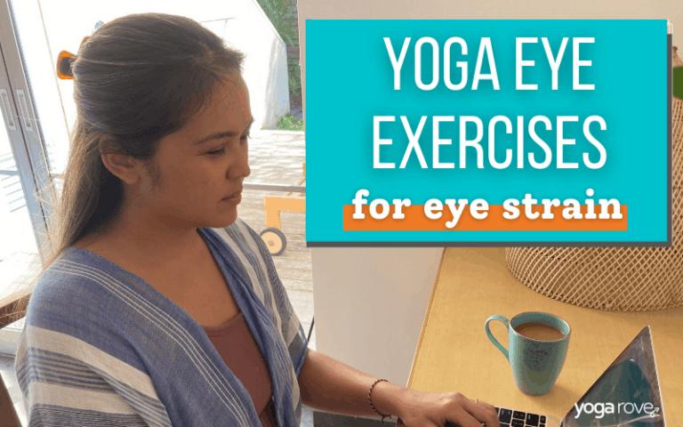 Yogi straining eyes